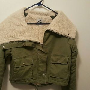 UNIF XS Sherpa Lined Jacket